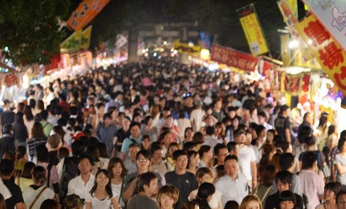 博多三大まつりの一つ!秋の訪れ告げる 筥崎宮放生会の画像