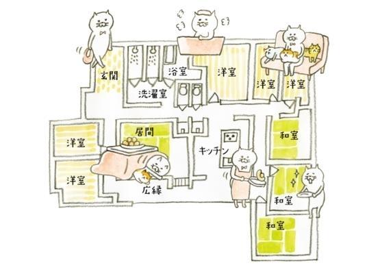 ネコと暮らせるシェアハウス「Q邸」4月1日、福岡市南区にオープン!の画像