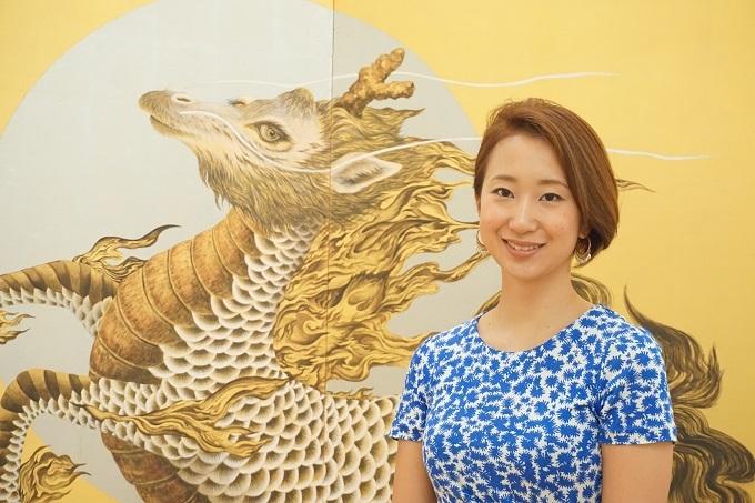 絹谷香菜子さん 多様性と無限の可能性を秘めた日本画の魅力の画像