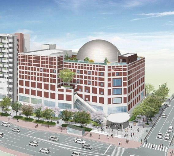 九州最大級のプラネタリウム!いよいよ「福岡市科学館」が誕生!(福岡市・六本松)の画像