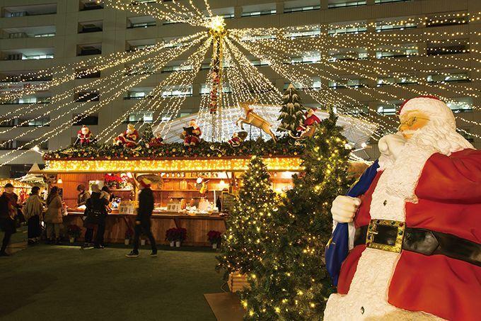 福岡市役所のふれあい広場で『クリスマスマーケット』開催!(11/30-12/25)の画像