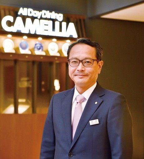 ホテルオークラ福岡 高柳健二社長とランチ@オールデイダイニング カメリアの画像