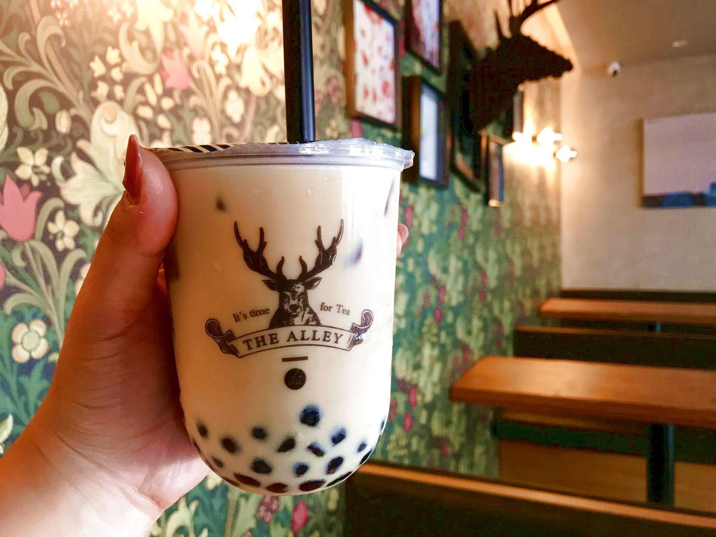 鹿デザインのタピオカドリンク九州初上陸! 茶葉のうまみが染みるの画像