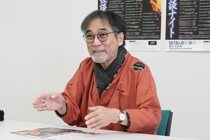 「昨年より86倍怖い」 稲川淳二さんが「怪談ナイト」福岡公演を語るの画像