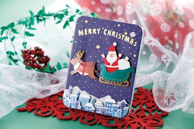 「クリスマスカード」の売り上げトップ5!【天神ロフト】の画像