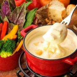 【チーズがとろーり♡】上野のチーズフォンデュならココしかない!
