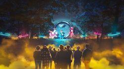 夜の大阪城公園彩る「SAKUYA LUMINA」が12月15日(土)オープン!