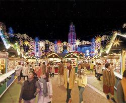 【ハウステンボス】イルミネーションに包まれた『光のクリスマスマーケット』開催中!