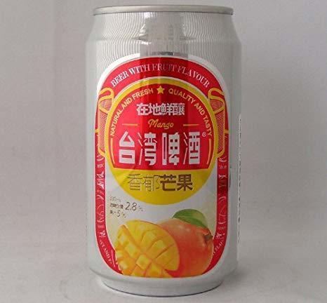 ※画像は「台湾マンゴービール」です。