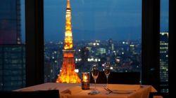 【記念日に】汐留で素敵な夜景をバックにディナーデートを楽しもう♪