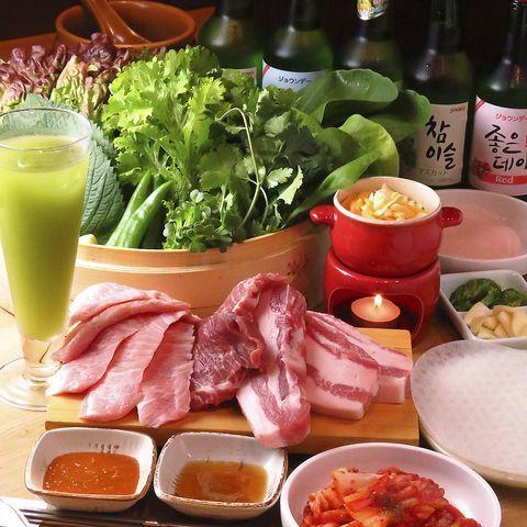 新大久保でサムギョプサル食べ放題ランチ!安いのにうまい厳選5選♪の画像