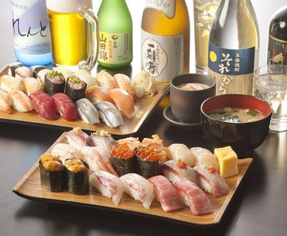 新宿で寿司をコスパ良く食べよう!食べ放題から高級店まで9選ご紹介の15枚目の画像の画像