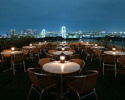 【安い×お洒落】お台場の夜景を見ながらワンランク上のディナーを♡