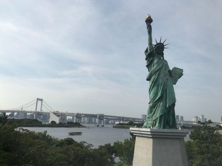 #関東 #東京 #tokyo #東京の観光スポット #お台場 #アクアシティ #AQUACITY #女神 #なんていうんだっけこれ #海 #休日