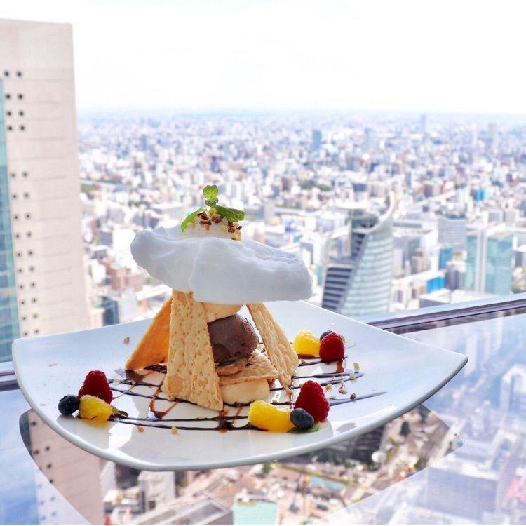#カフェ #名古屋カフェ #カフェ巡り #JR名古屋タカシマヤ #タワーズ51階 #カフェドシエル #天空のカフェ #ミルフィーユ