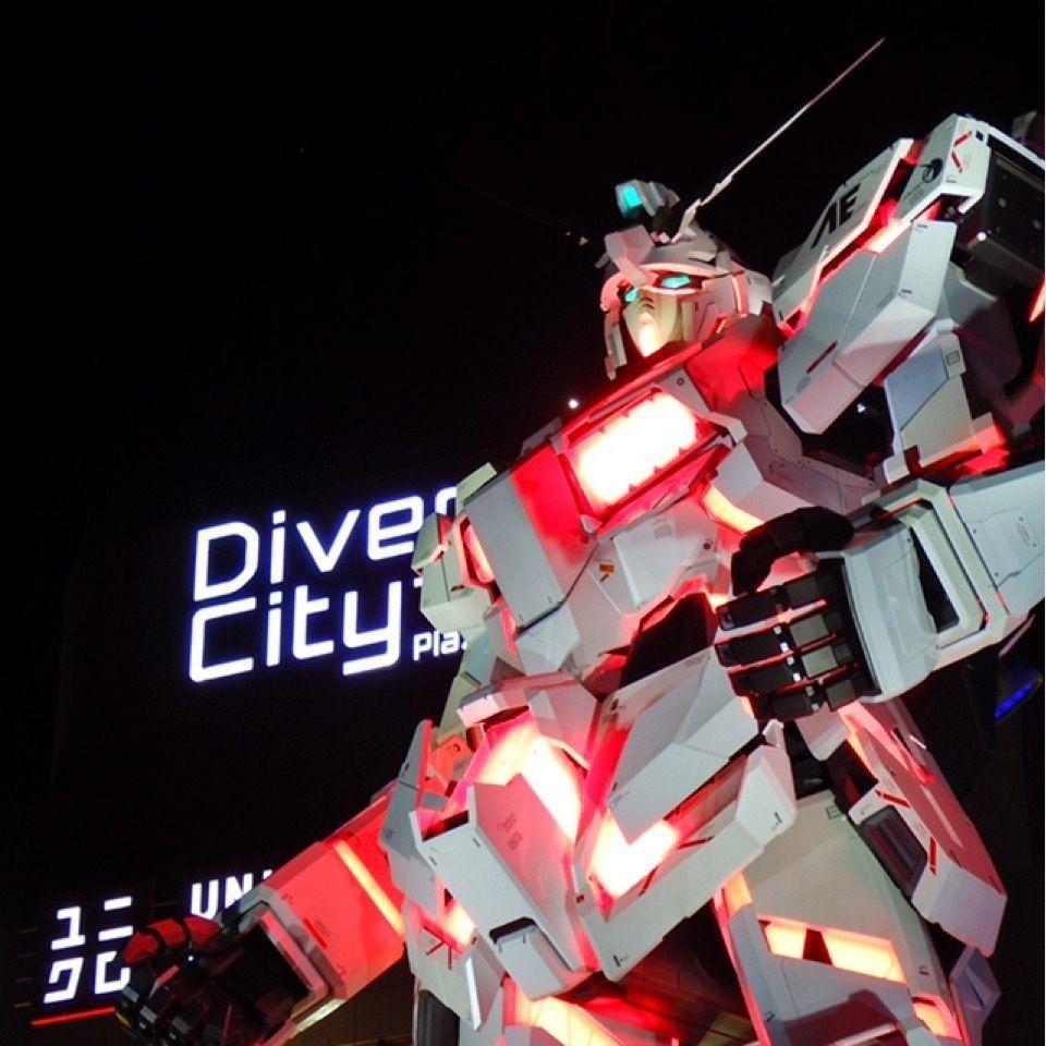 #山分け #aumo #お台場 #ガンダム #東京 #ダイバーシティ東京 #おでかけ #フォトジェニック