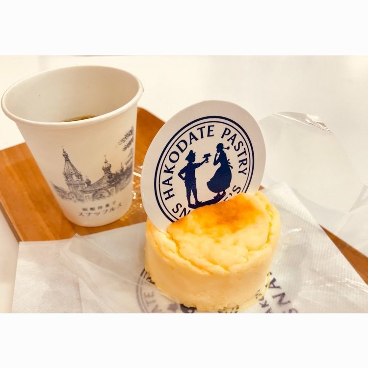 #カフェ #北海道 #函館 #金森赤レンガ #スナッフルス #チーズオムレット #プチカフェ