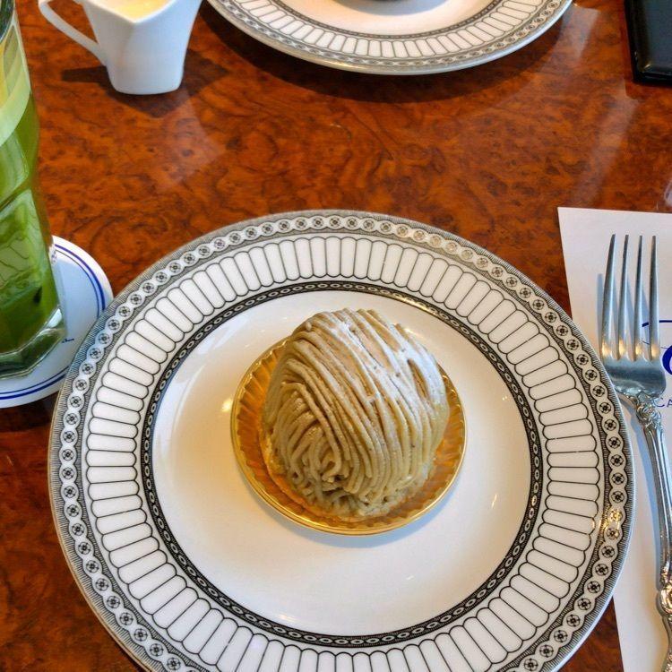 #美味しいケーキ #名駅 #名古屋駅 #最上階 #眺めが良い #モンブラン #グリーンティー #中部のおすすめ #山分け