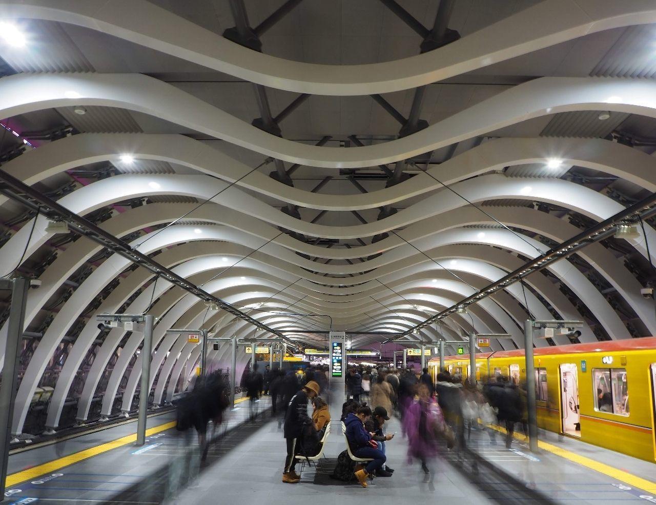 #おでかけ #渋谷駅 #東京メトロ #銀座線