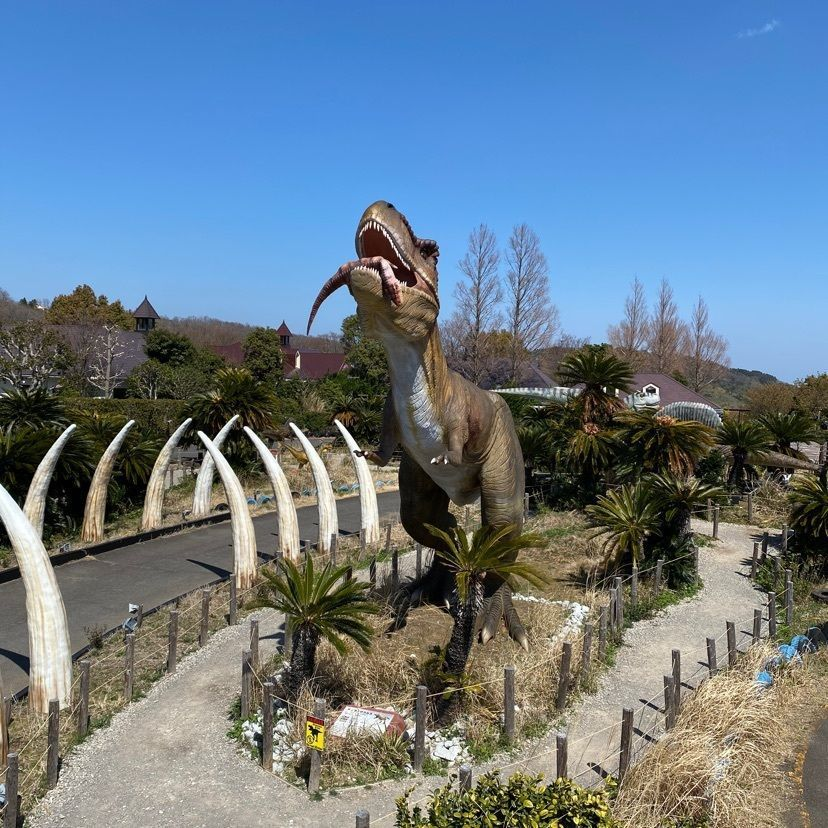#おでかけ #こども大人も楽しめる #いすぐらんぱる公園 #恐竜 #公園 #ぐらんぱる公園