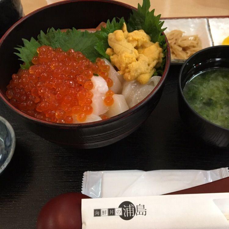 #北海道 #グルメ #海鮮丼 #浦島