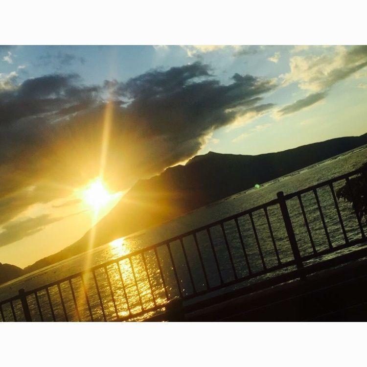 #鹿児島 #桜島 #夕日 #sunset