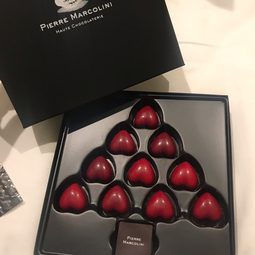 #ピエールマルコリーニ #クリスマス #冬 #フランボワーズ #チョコレート #貧乏舌