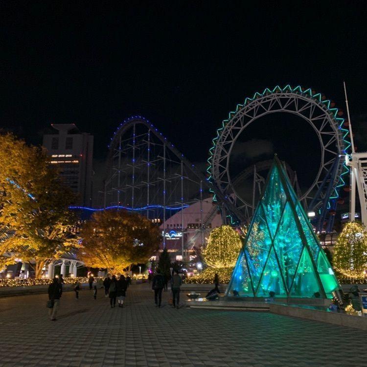 #おでかけ #冬 #東京ドームシティ #イルミネーション
