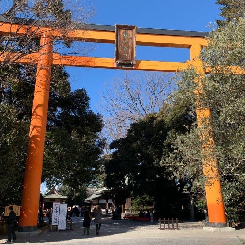 ここ から 川越 氷川 神社