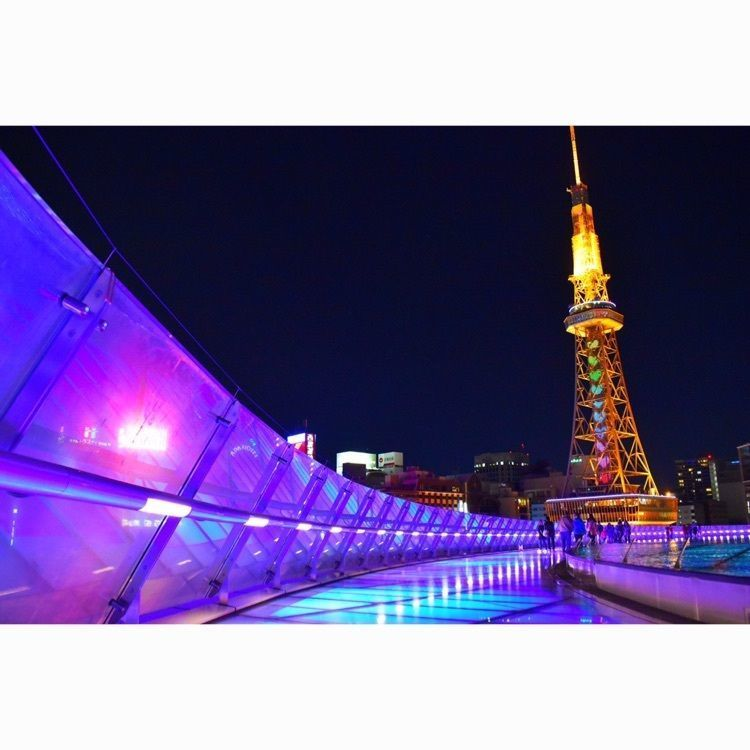 #愛知 #名古屋 #栄 #テレビ塔 #水の宇宙船 #夜景 #ライトアップ #景色 #風景 #カメラ