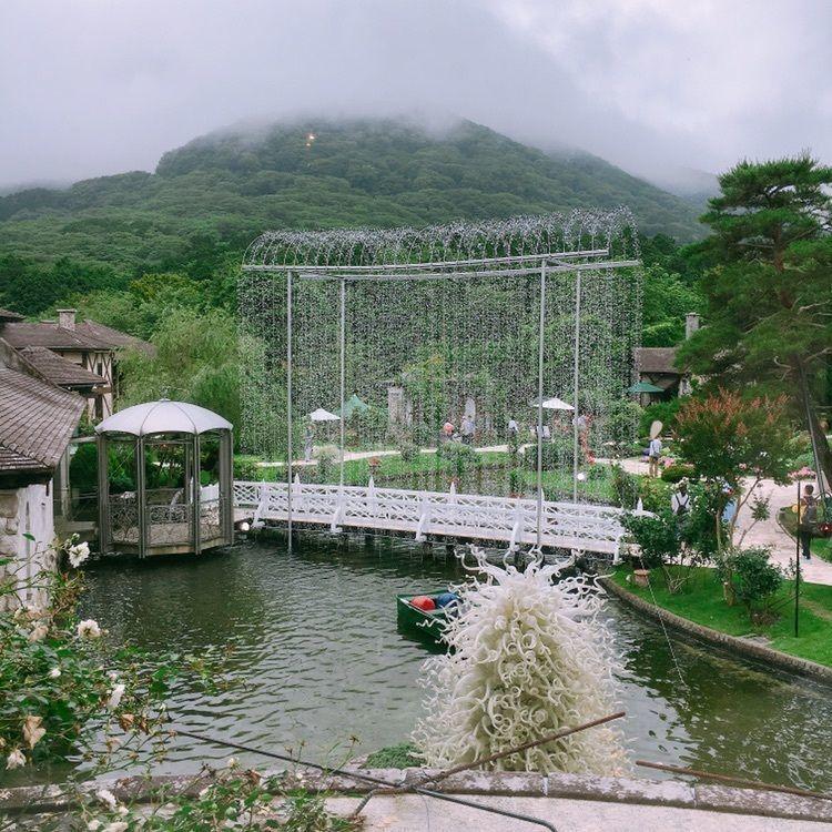 #箱根ガラスの森美術館