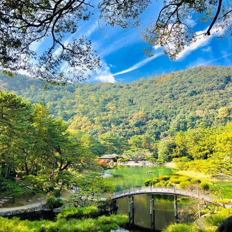 #おでかけ #フォトジェニック #四国 #香川 #栗林公園 #香川のおでかけスポット #日本庭園