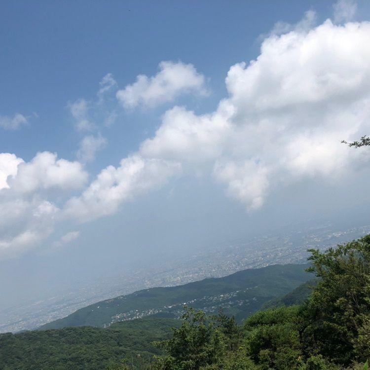#夏 #おでかけ #六甲山 #登山 #登山女子 #山 #景色 #六甲最高峰