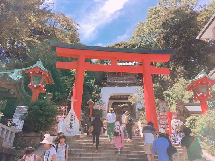 #江ノ島 #江島神社 #夏 #おでかけ