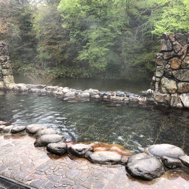 #奥薬研 #渓流 #桜 #雪 #カッパの湯 #露天風呂 #気持ちいい #自然