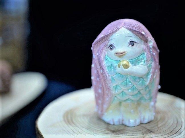 鬼、アマビエなどの妖怪を個性豊かに表現「博多人形妖怪展」の画像