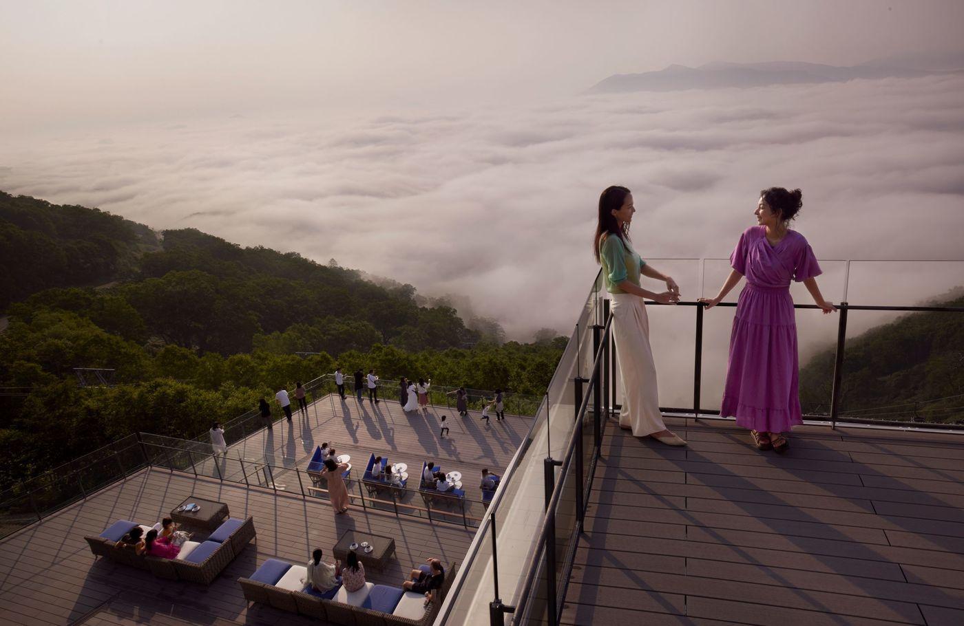 【星野リゾート トマム】「雲海テラス」がリニューアル!北海道の絶景をさらに満喫の画像