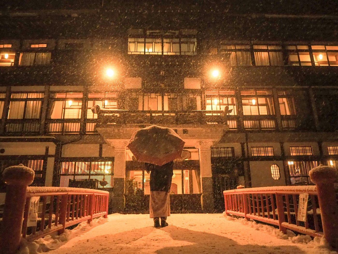 山形 ノスタルジーに浸る特別な滞在 銀山温泉の人気宿 永澤平八 をご紹介 Aumo アウモ
